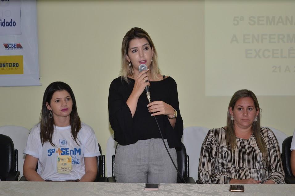 semana_enfermagem_mnt_2017_lorena Secretaria de Saúde abre oficialmente a 5ª Semana da Enfermagem no Município de Monteiro