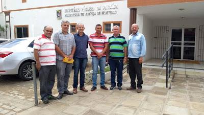 tr3-1 Vereadores solicitam no Ministério Público solução para comunidades que precisam de pontes por causa da chegada das aguas do Rio Paraíba