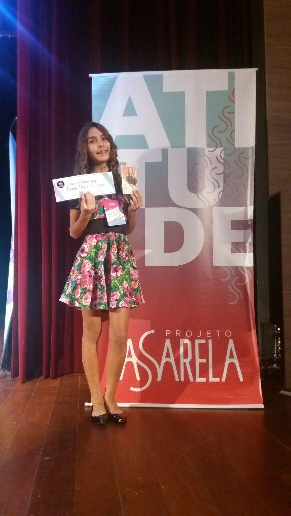 """6127a107-007a-48eb-a07f-14ebed932ab1 Monteirense """"Arielly Sousa"""" se d estaca em evento de nível nacional"""