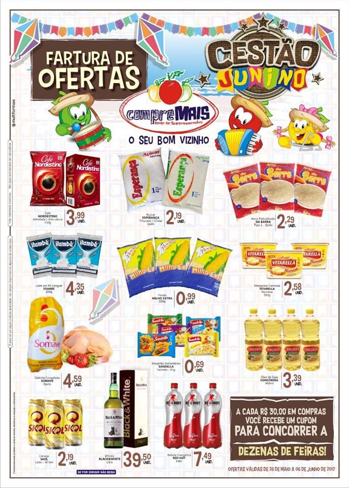tr2 Compre Mais Monteiro está com super ofertas para o mês Junino