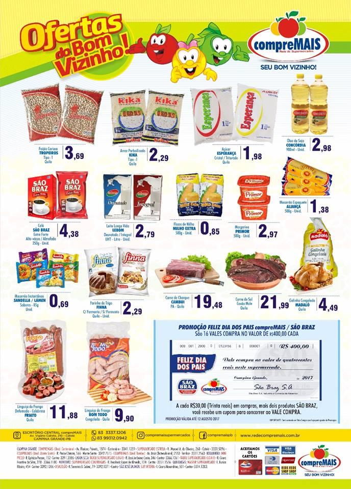 ofertas-do-compre-mais Em Monteiro: Confira as Promoções do Supermercado Compre Mais