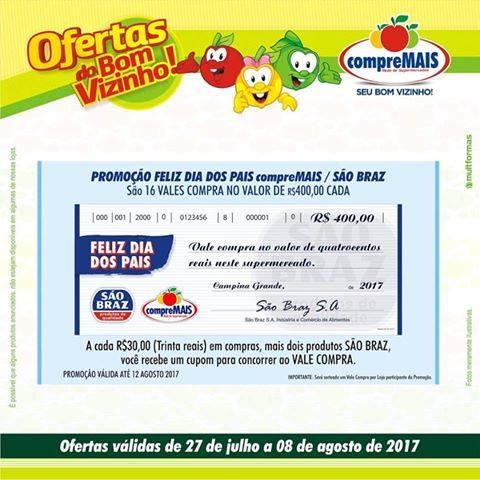 Compre-mais-Supermercado-da-prêmio-de-R-40000-na-promoção-do-dia-dos-PAIS Compre mais Supermercado da prêmio de R$ 400,00 na promoção do dia dos PAIS
