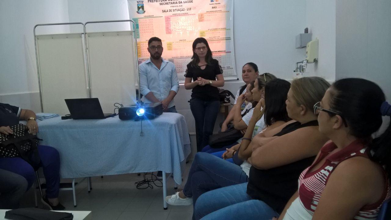 Conselho-na-Saúde-Básica. Secretaria de Saúde de Monteiro implanta Conselho na Saúde Básica