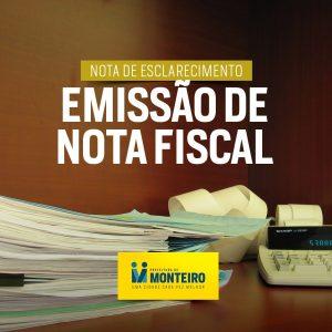 Nota-Arte-300x300 NOTA DE ESCLARECIMENTO: Prefeitura de Monteiro