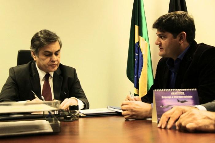 PREFEITO-DALYSON-NEVES-EM-BRASILIA-4 Prefeito Dalyson Neves e presidente da câmara Pedro viajam a Brasília em busca de recursos