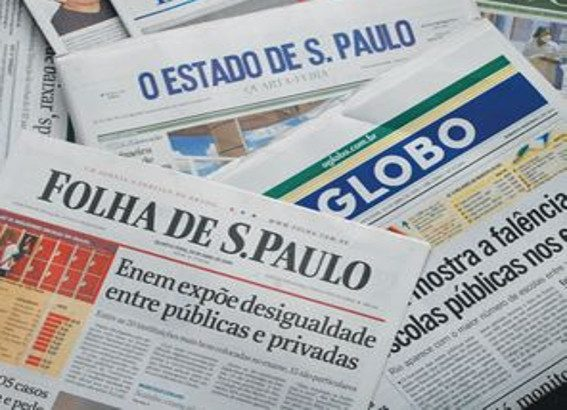 noticiario Manchetes dos principais jornais nacionais desta sexta-feira