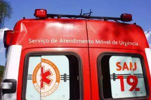 samu-300x200 Colisão entre moto e animal deixa uma pessoa gravemente ferida em Monteiro