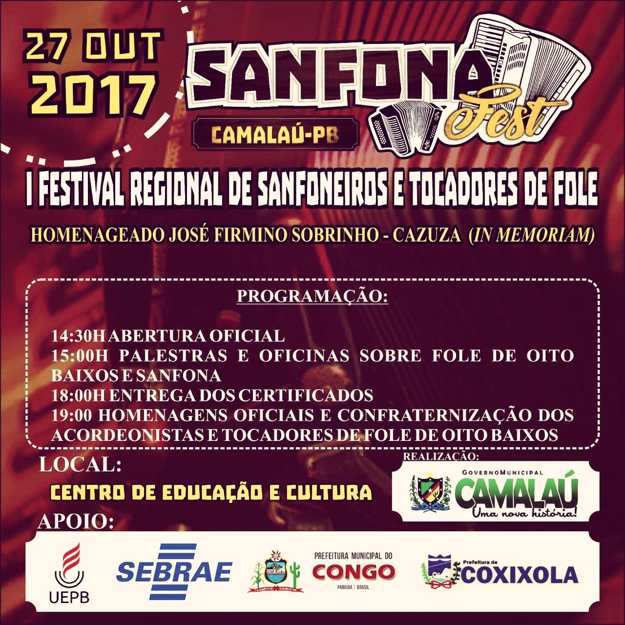 89efb793-f854-40c9-9038-6b9e2482dc13 Vem aí primeiro festival regional de Sanfoneiros e tocadores de fole do Cariri