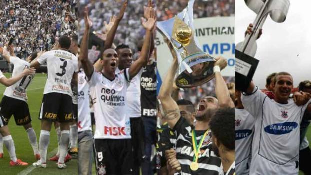 5a0ca75396ee3 Com 3 títulos na década, Corinthians é o maior campeão brasileiro do século