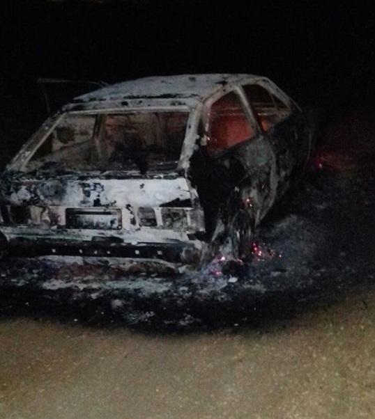 gol-encontrado-queimado Carro é encontrado incendiado em cidade do Cariri