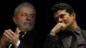moro-lula01-1-300x169 Lula volta a desafiar Moro a 'provar um real de sua vida que não seja legal'