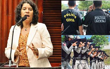 05-12-2017.180307_apoliciasas POLÊMICA: Deputada governista diz que população se sente acuada pela polícia