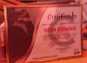 24900092_371523846634513_267556021319280013_n-300x217 Bom Demais recebe Prêmio Referência do Cariri de melhor supermercado de Monteiro