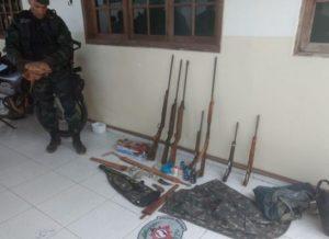 Polícia-ambiental-apreende-armas-e-munições-em-sumé-300x218 Polícia ambiental apreende armas e munições em Sumé