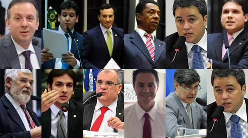 bancada-deputados-atualizada-800x445 Deputados federais da PB 'torram' mais de R$ 5,1 milhões da cota parlamentar em 2017