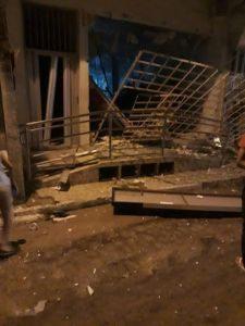 explosão-225x300 Moradores são feitos reféns em explosões de Bancos na Paraíba