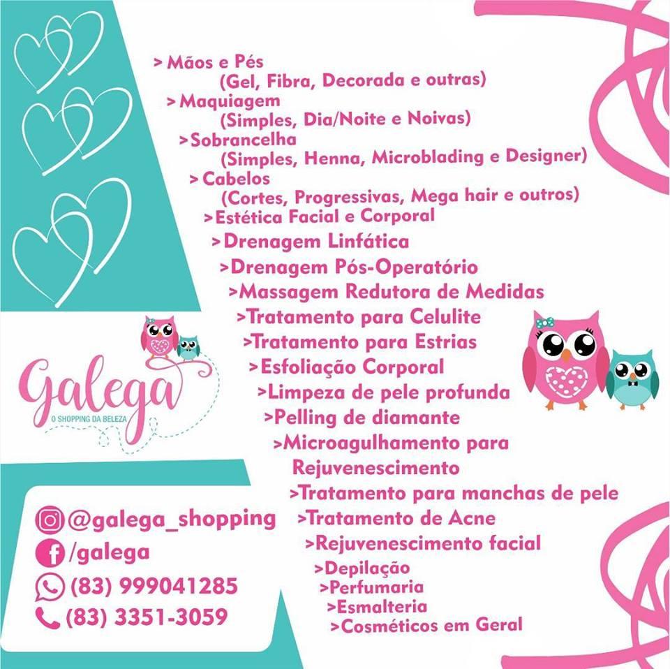 26168497_848847211963705_5393167185665675182_n Galega o Shopping da Beleza em Monteiro e Região