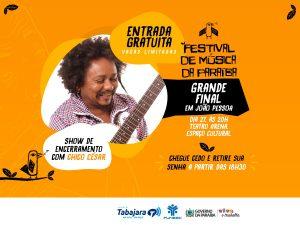 festival-de-musica-300x225 Finalíssima do Festival de Música é neste sábado com show de Chico César