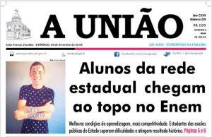 aluno-serra-branca-odonto-300x194 Serra-branquense aprovado em 1º lugar em Odontologia na UFCG é destaque em jornal estadual