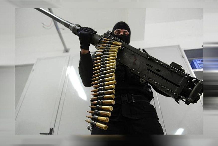 metralhadora_50 Bandidos que atacaram carro-forte na Paraíba usaram metralhadora .50, capaz de derrubar avião