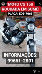moto-roubada-em-sume-169x300 Homem munido com arma de fogo toma por assalto moto de jovens em Sumé