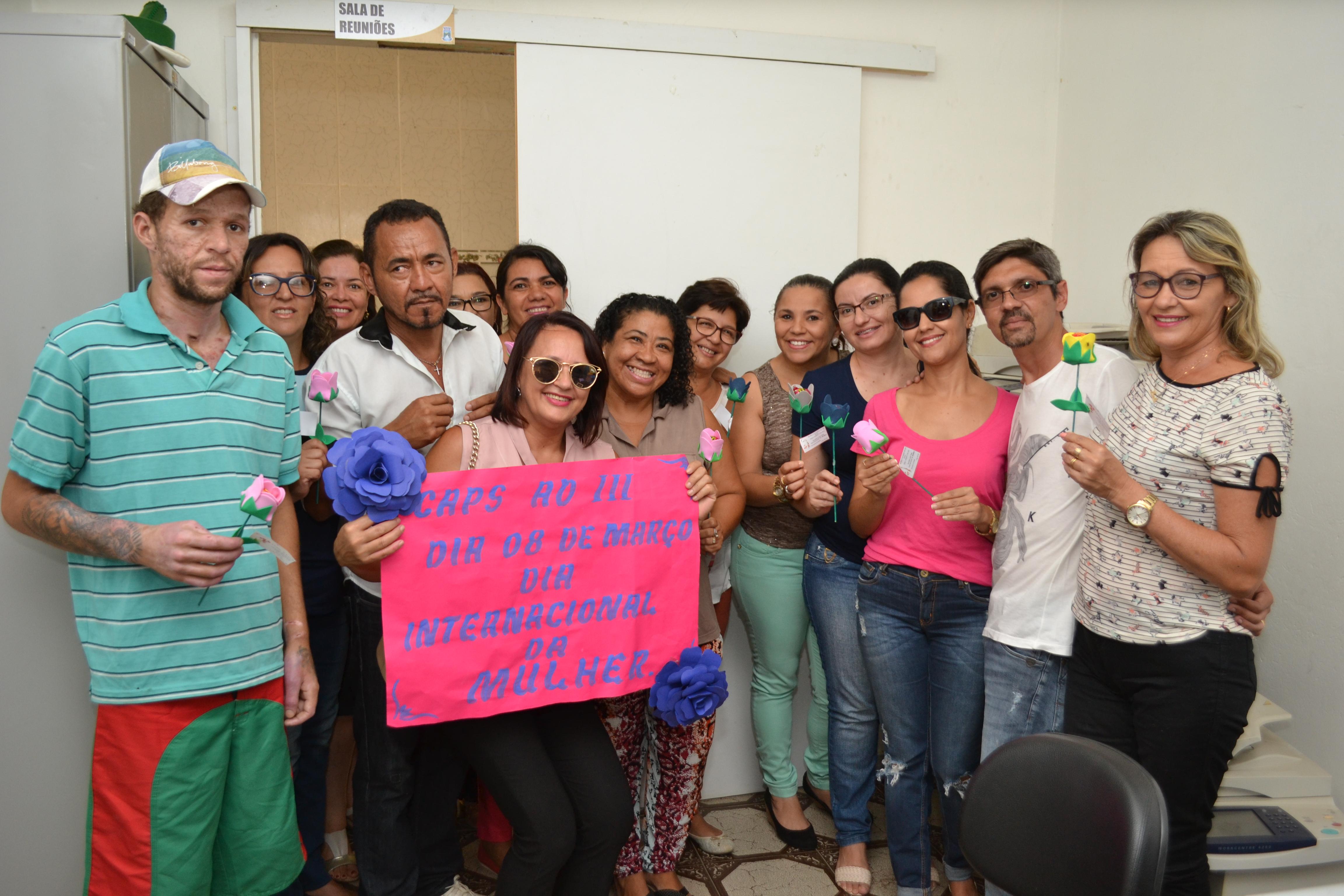 DSC_0219 Semana da Mulher em Monteiro é comemorada de forma especial pelos CAPS I e III