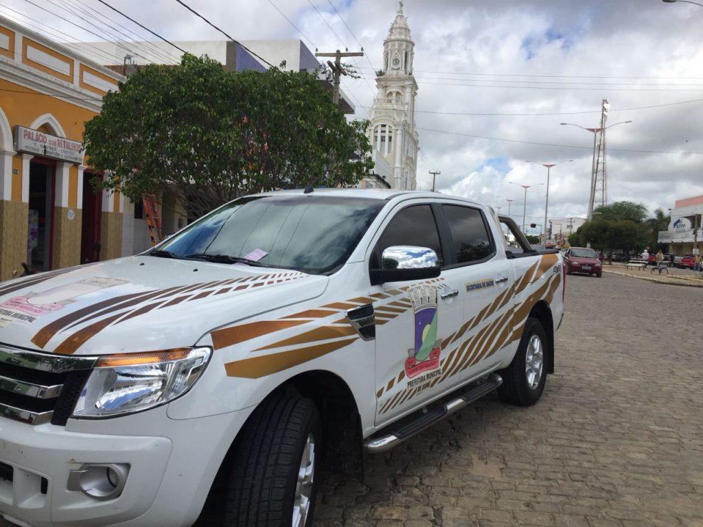 carro-da-prefeitura-de-sumé.jpg02-1024x768 Em Monteiro: Carro da Prefeitura de Sumé é Multado pela Fiscalização de Trânsito, por estacionar em local proibido