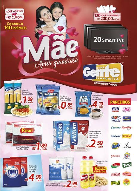 z4.1 Bom Demais Supermercados está com novas promoções e você pode ganhar vários prêmios