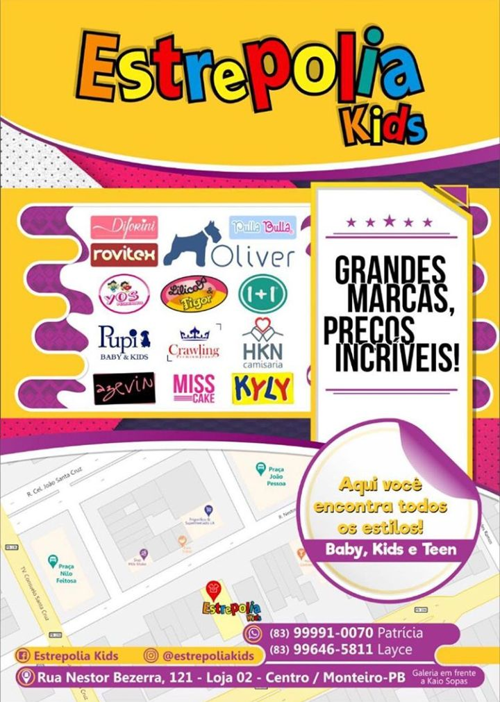 estrepolia-kids.jpg-03 Promoção de São João Estrepolia Kids, Vale-Compra de R$ 600 reais
