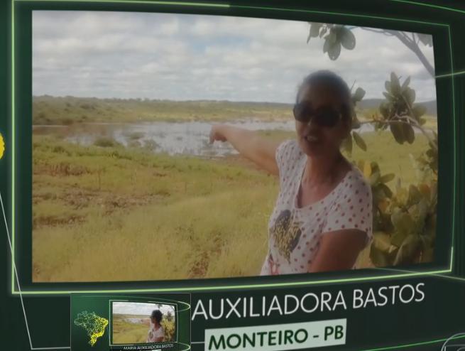 mONTEIRO_BRASIL Que Brasil você quer para o futuro? Fantástico exibe vídeo de Monteirense.