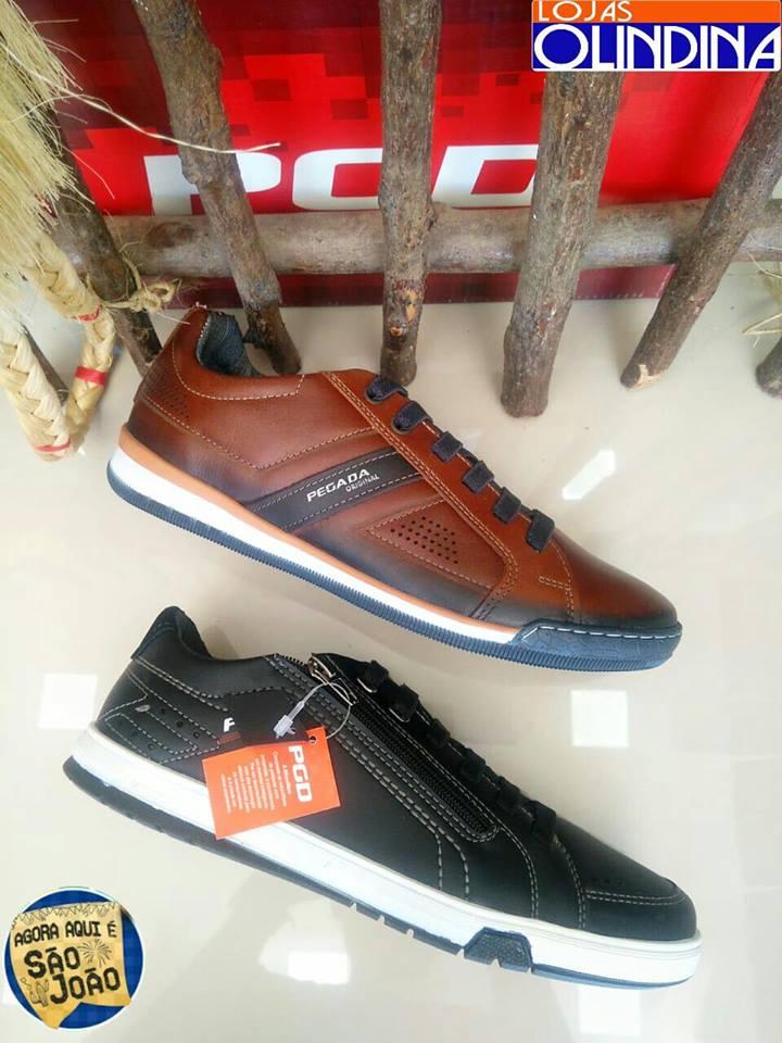 90 Lojas Olindina apresenta coleção de calçados masculinos