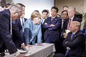 TRUMP-300x200 Trump retira apoio de declaração do G7 após o fim do encontro