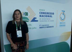 003-22-300x218 Secretária de Saúde de Monteiro participa de Congresso Nacional em Belém