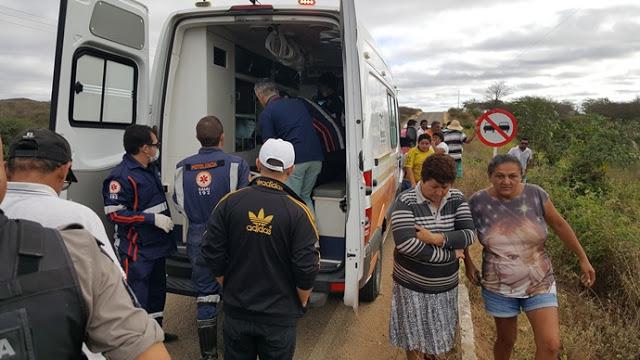 20180728_073924 Motorista perde controle da direção e veículo capota em Monteiro