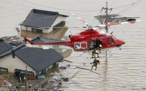 japão-300x188 Chuvas no Japão deixa mortos e desaparecidos
