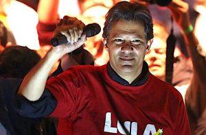 Fernando-Haddad-300x197 Na primeira pesquisa como candidato de Lula, Haddad dispara e tem 14%. Bolsonaro cai para 20%.