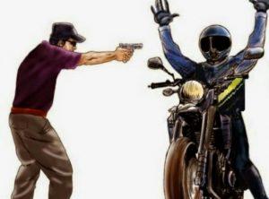 assalto-300x222 Mototaxista tem moto tomada de assalto por bandido que fingiu ser cliente em Monteiro
