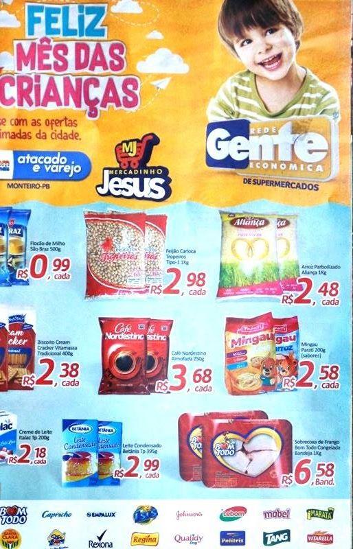 01 Supermercados Bom Demais Atacado e Varejo está com novas e imperdíveis promoções Feliz Mês das Criança