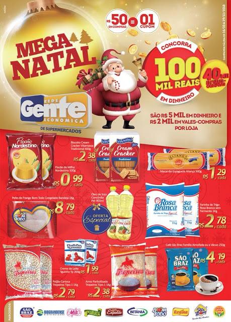 A1 Confira as Promoções do Bom Demais Supermercados, Mega Natal