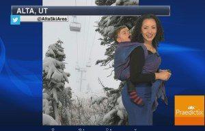 previsao-do-tempo-300x191 Meteorologista apresenta previsão do tempo com filho