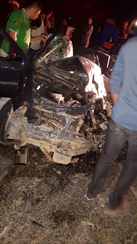 ACIDENTE-576x1024 Acidente entre ônibus escolar e carro deixa uma vítima fatal na BR-110 entre as cidades de Monteiro e Sertânia