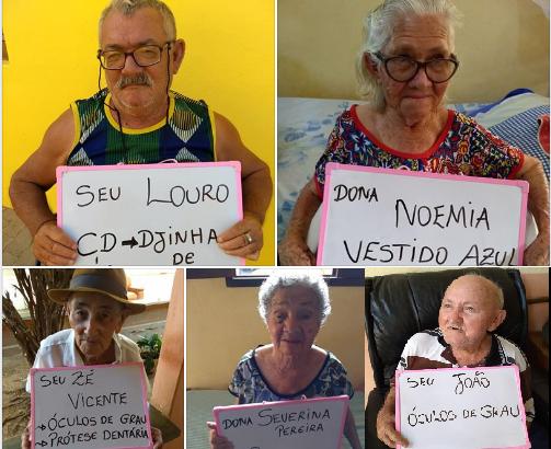 Sem-título Campanha arrecada presentes para idosos de abrigo no Cariri paraibano