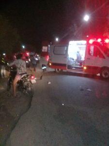 acidente-na-vila-225x300 Em Monteiro: Colisão entre motocicletas deixa duas pessoas feridas