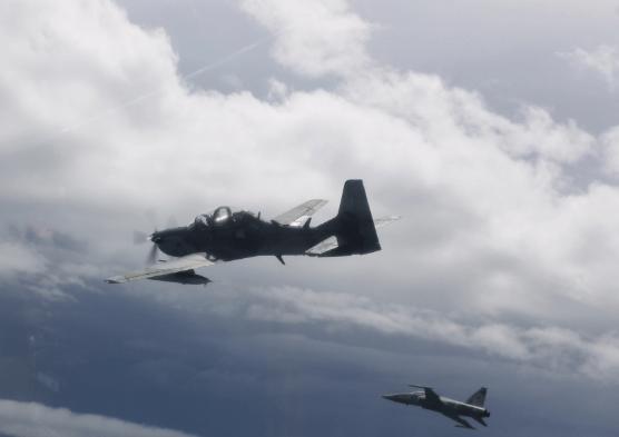 avioes Exercício multinacional da FAB realiza treinamento nos céus da PB e RN