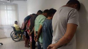 suspeitos-operacao-carga-segura-300x169 Nove pessoas são presas na Operação Carga Segura