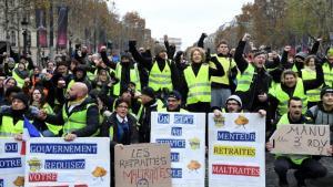 000_1b25s2_0-1 'Coletes amarelos' voltam a protestar na França