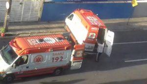 acidente-centro-e1544959036868 Casal morre e grávida fica ferida após moto colidir com ônibus