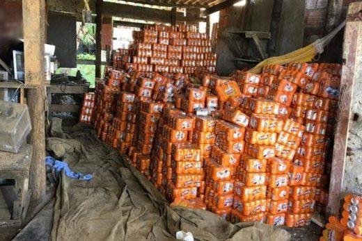 carga_de_bebidas_recuperadas-520x347 Carga de cerveja roubada avaliada em R$ 90 mil é encontrada em Cabedelo