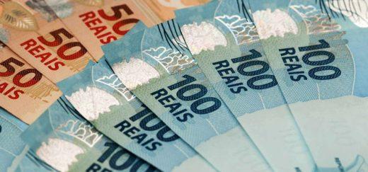 dinheiro-100-50-520x243 Prefeituras recebem R$ 95 milhões de repasse