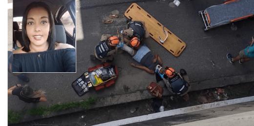 morte-mulher-2-520x258 Mulher que pulou de viaduto em João Pessoa Morre no Hospital de Trauma
